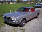 American Cars Legend - 1965 FORD MUSTANG FASTBACK  GT CODE K